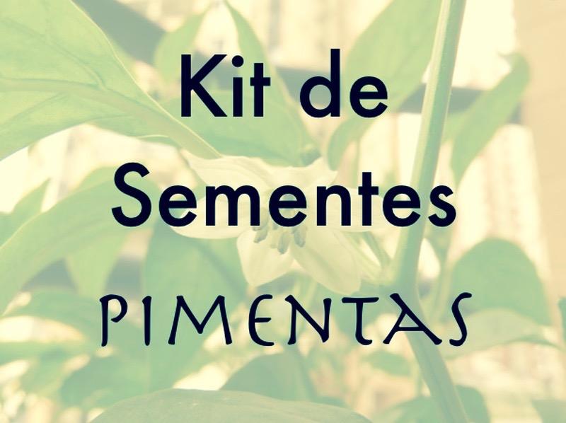 Kit de Sementes - Pimentas